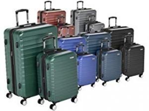 ihocon: AmazonBasics Premium Hardside Luggage硬殼行李箱 - 多色可選