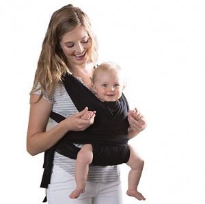 ihocon: Boppy ComfyFit Baby Carrier, Black  嬰兒背帶 - 多色可選