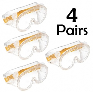 ihocon: hand2mind 5-Inch Childrens' Safety Glasses, (Pack of 4) 兒童護目鏡