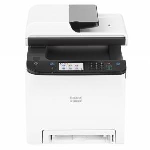 ihocon: Ricoh M C250WB Wireless Color Digital Laser All-in-One Printer/Copier/Scanner/Fax with Duplex多功能印表機
