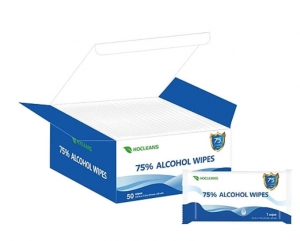 ihocon: Alcohol Wipes, 50 Wipes/Pack 消毒濕巾
