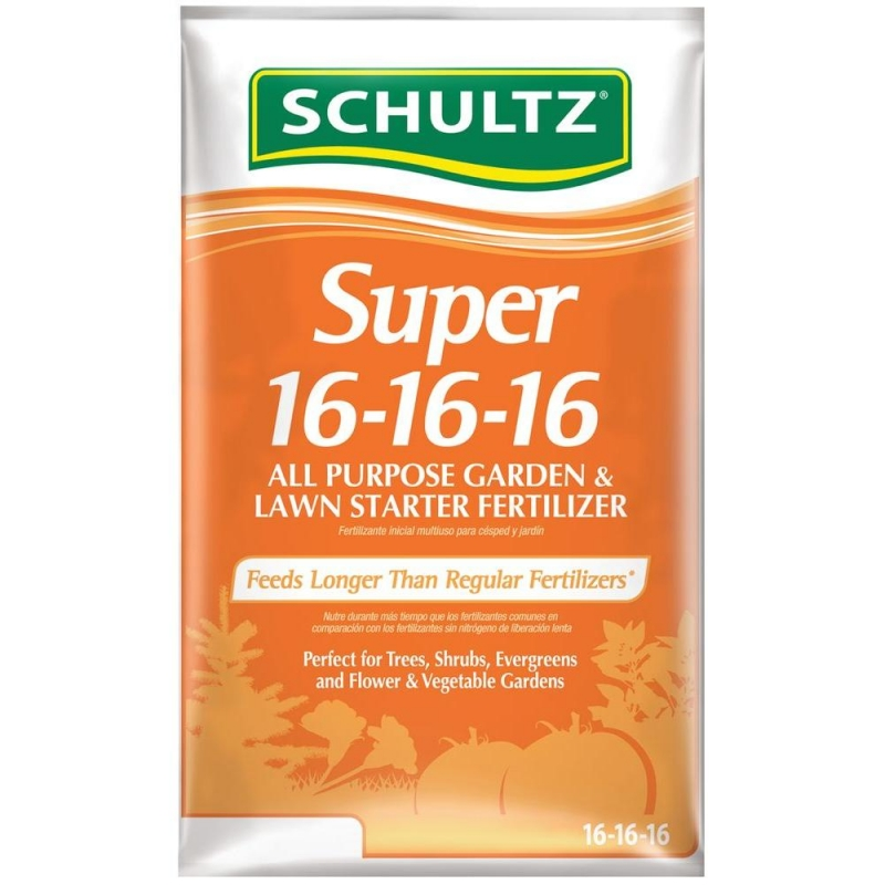 ihocon: Schultz 15 lb. Super 16-16-16 All-Purpose Garden and Lawn Starter Fertilizer 萬用肥料
