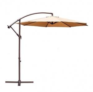 ihocon: Le Papillon 10-ft Offset Hanging Patio Umbrella庭園遮陽傘