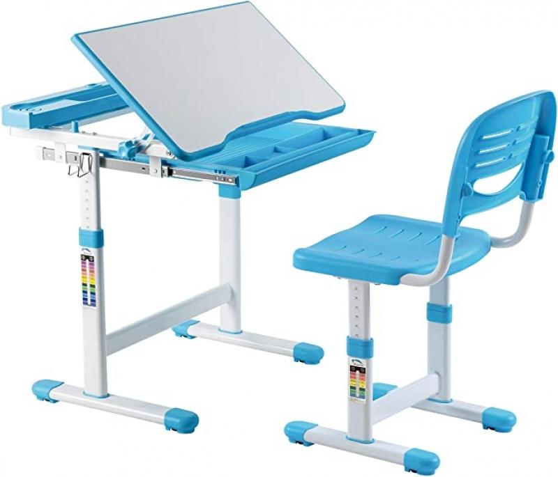 ihocon: Mount-It! Height Adjustable Kids Desk with Chair 可調高度兒童桌椅 - 3色可選
