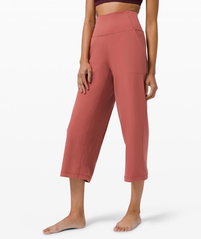 ihocon: lululemon Align Wide Leg Crop 23 女士七分褲