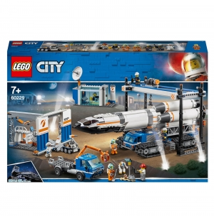 ihocon: LEGO City: Rocket Assembly and Transport Space Port (60229) 火箭組裝/運輸太空港(60229)