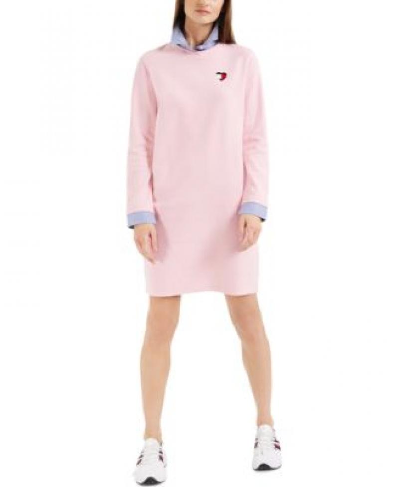 ihocon: Tommy Hilfiger Layered Shirtdress 襯衫領洋裝