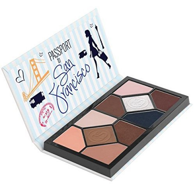 ihocon: Coastal Scents Passport to San Francisco Eye Shadow Palette 眼影盤