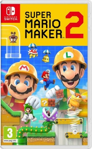 ihocon: [Pre-Order預購] Nintendo Super Mario Maker 2 - Nintendo Switch