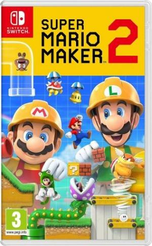 [Pre-Order預購] Nintendo Switch遊戲 – Nintendo Super Mario Maker 2 $41.95免運(原價$59.99)