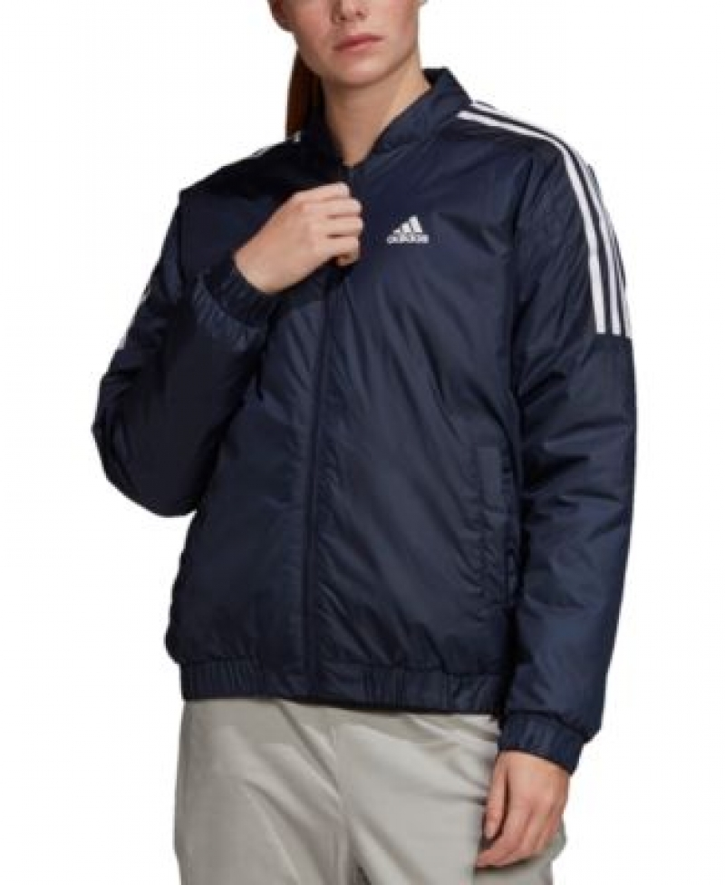 ihocon: adidas Women's Essentials Insulated Bomber Jacket愛迪達女士夾克