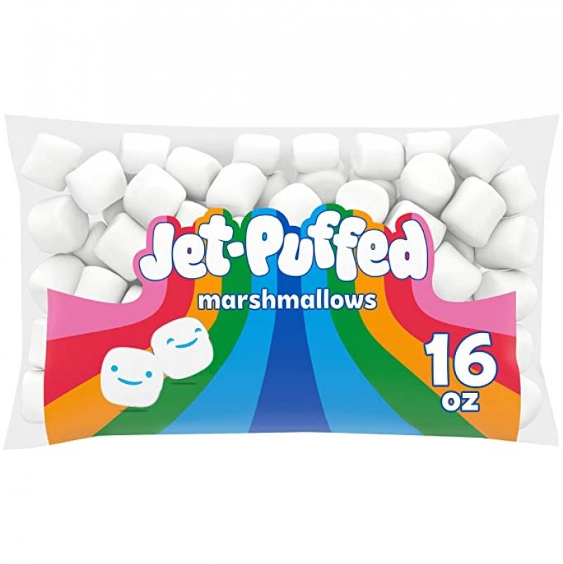 ihocon: Jet-Puffed Marshmallows (16 oz Bag) 棉花糖