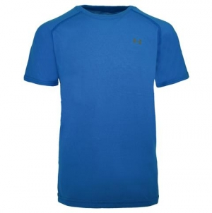 ihocon: Under Armour Boys' UA Tech Mini Left Chest Logo S/S男童T-Shirt-多色可選