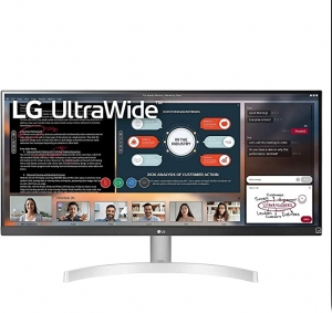 ihocon: LG 29WK600-W 29 Ultra Widescreen Full HD IPS HDR 10 LED AMD FreeSync Monitor with Built-in Speakers (2018 Model)電腦螢幕