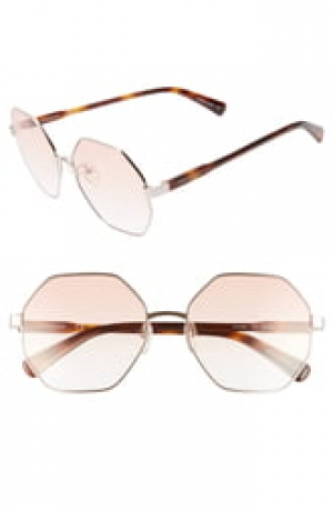 ihocon: LONGCHAMP Le Pliage 57mm Gradient Octagonal Sunglasses太陽眼鏡