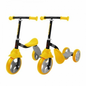 ihocon: Swagtron K2 Kid 3 Wheel Transforming 2-in-1 Bike/Scooter 2合1 平衡車/三輪滑板車