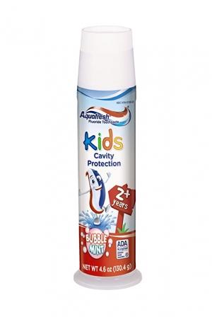 Aquafresh泡泡糖口味 兒童牙膏 4.6oz  $1.53(原價$2.79)