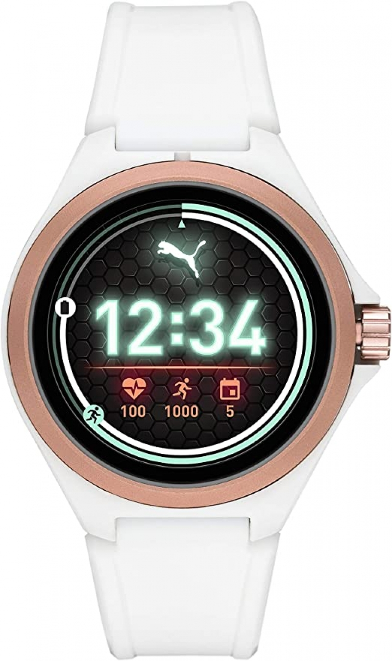 ihocon: PUMA Sport Smartwatch Lightweight Touchscreen with Heart Rate, GPS, NFC, and Smartphone Notifications 智能錶