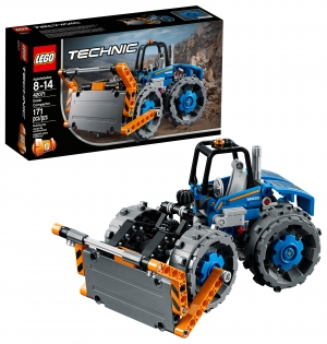 ihocon: LEGO Technic樂高推土機壓路機Dozer Compactor 42071 Building Set (171 Pieces)