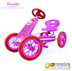 ihocon: Hello Kitty Lil'Turbo Pedal Go Kart 兒童三輪車