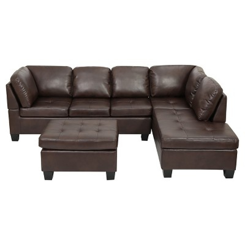 ihocon: Christopher Knight Home 3pc Canterbury Sectional Sofa Set 沙發組