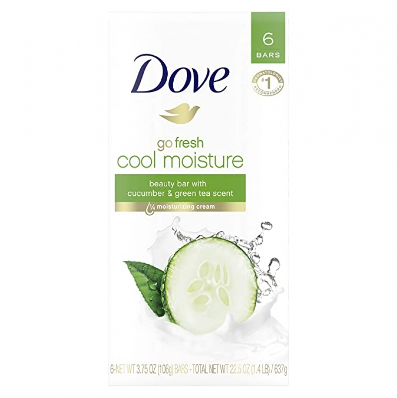 ihocon: Dove go fresh Beauty Bar, 3.75 oz 6 Bars 香皂