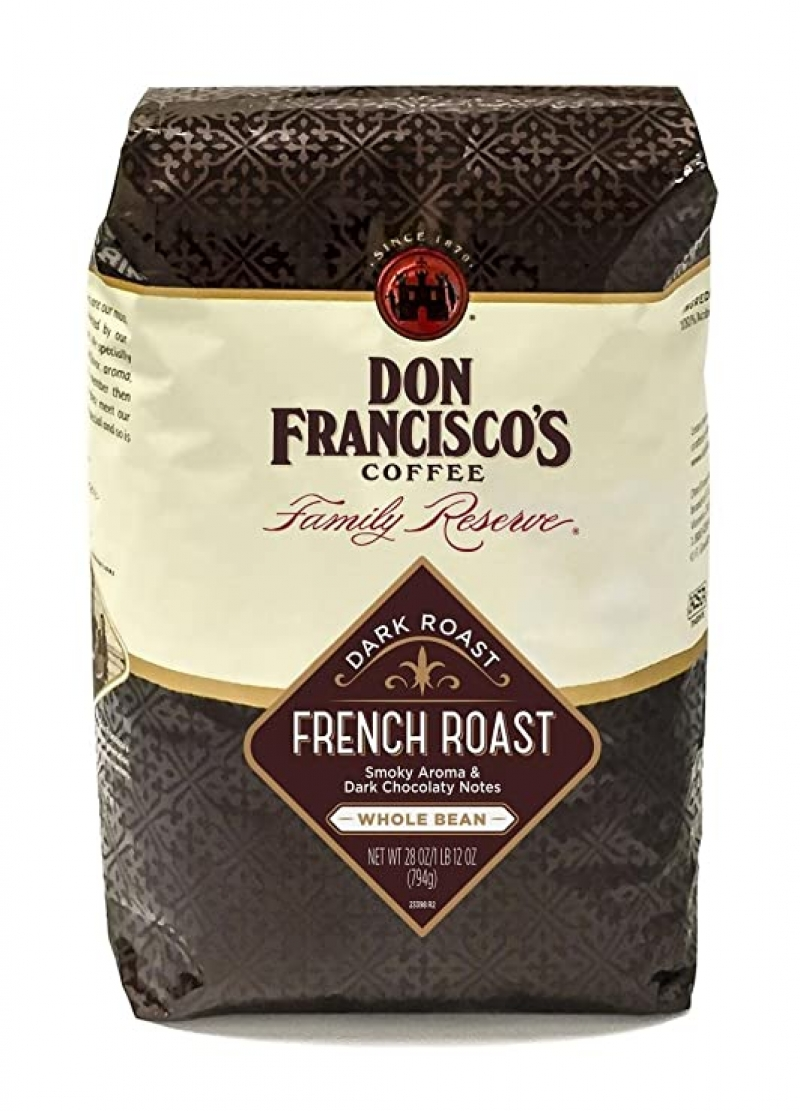 ihocon: Don Francisco's Whole Bean French Dark Roast Coffee (28-ounce)烘培咖啡豆