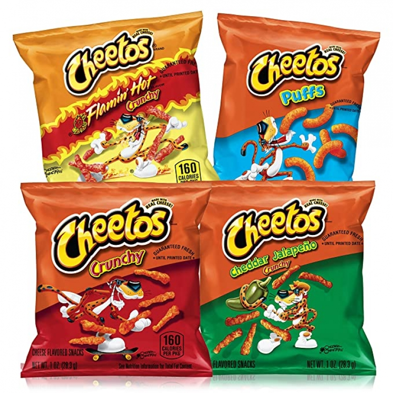 ihocon: Cheetos Cheese Flavored Snacks Variety Pack, 40 Count