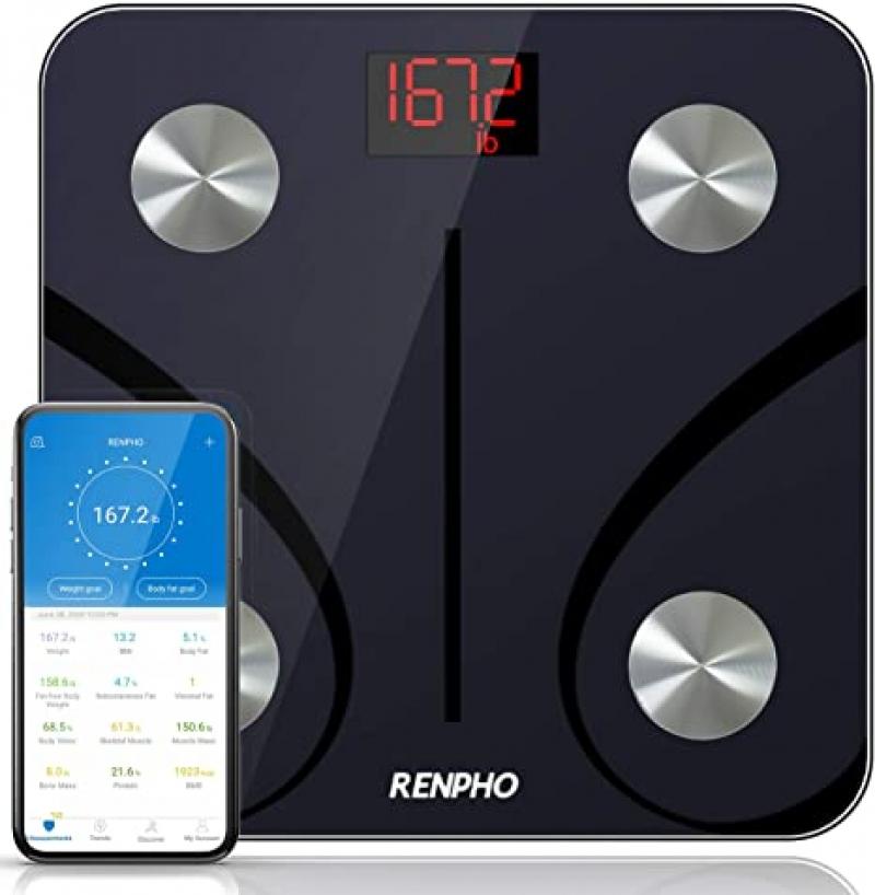 ihocon: RENPHO Bluetooth Body Fat Scale 智能體脂體重秤