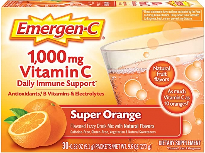 ihocon: Emergen-C 1000mg Vitamin C Powder, 30 Count