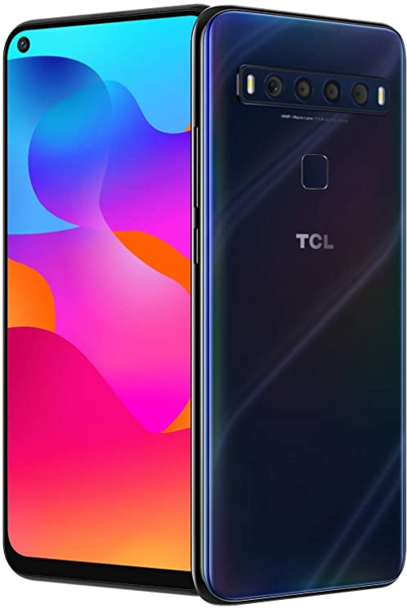 ihocon: TCL 10L, Unlocked Android Smartphone with 6.53 FHD + LCD Display, 48MP Quad Rear Camera System, 64GB+6GB RAM, 4000mAh Battery