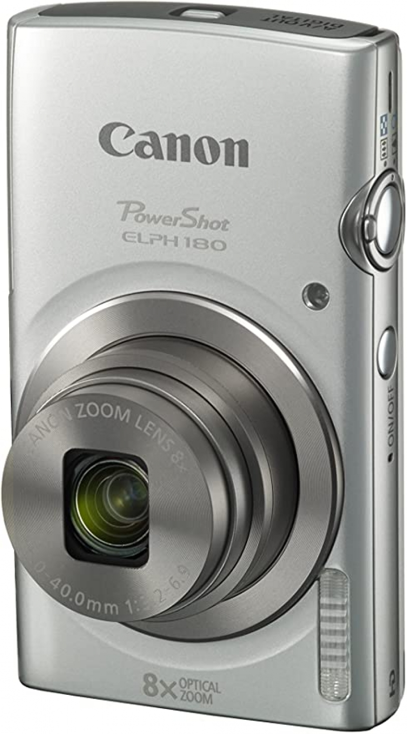 ihocon: Canon PowerShot ELPH 180 Digital Camera w/ Image Stabilization and Smart AUTO Mode 數位相機