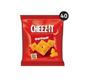 ihocon: Cheez-It, Baked Snack Cheese Crackers, Original, Made with 100% Real Cheese, 2.500lb Case (40 Count)