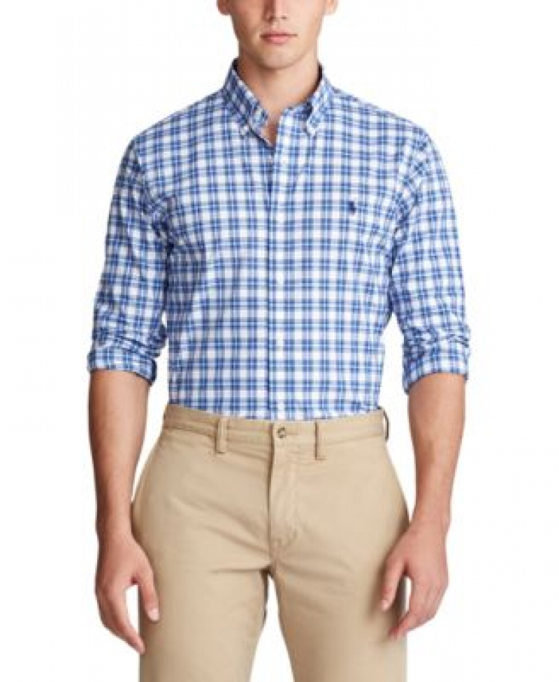 ihocon: Polo Ralph Lauren Men's Classic Fit Button Down Oxford Shirt 男士襯衫 - 多色可選
