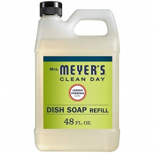 ihocon: Mrs. Meyer's Liquid Dish Soap Refill, Lemon Verbena, 48 OZ洗碗精