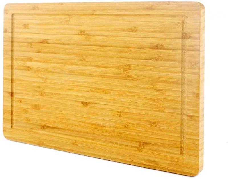 ihocon: PURENJOY Bamboo Wood Cutting Board (Rectangle, 9.9 x 15.1) 竹製木菜板