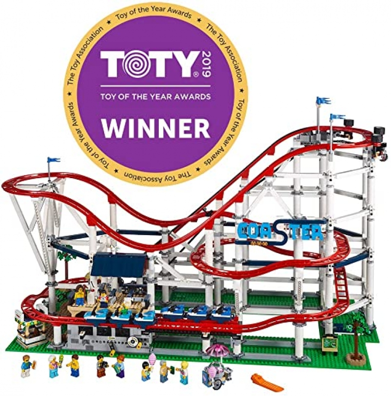 ihocon: 樂高積木LEGO Creator Expert Roller Coaster 10261 Building Kit (4124 Pieces) 雲霄飛車