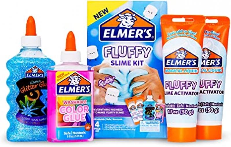 ihocon: Elmer's Fluffy Slime史萊姆 Kit