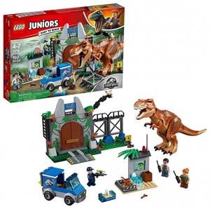 ihocon: LEGO Juniors/4+ Jurassic World T. rex Breakout 10758 Building Kit (150 Piece)