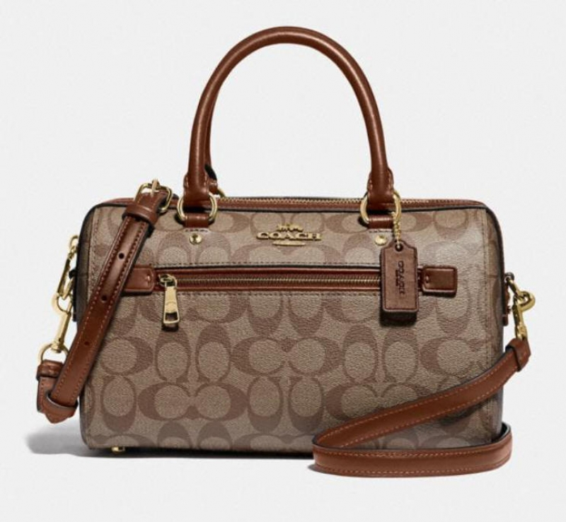 ihocon: Coach rowan satchel in signature canvas 包包-多色可選