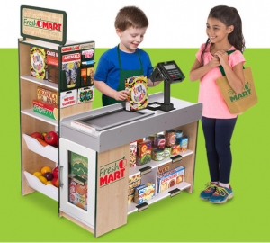 ihocon: Melissa & Doug Wooden Fresh Mart Grocery Store 木製雜貨店