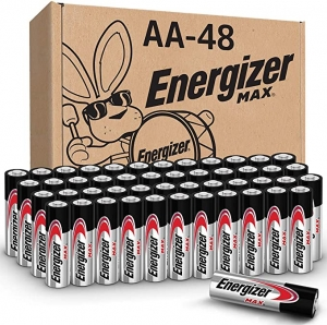 ihocon: Energizer AA Batteries (48 Count), Double A Max Alkaline Battery 電池