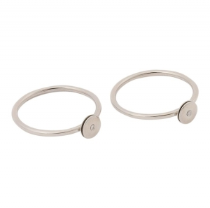 ihocon: Calvin Klein Women's 2 Precious Rings  女士戒指 2枚