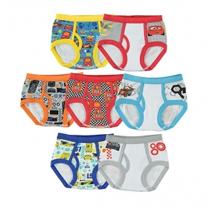 ihocon: Handcraft Cars Underwear for Toddler Boys 7-Pack (4T) 幼童100%純棉內褲