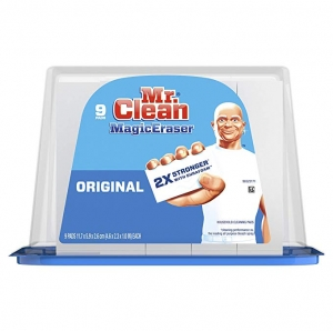 ihocon: Mr. Clean Magic Eraser Original, Cleaning Pads with Durafoam, 9 Count 魔術清潔海棉
