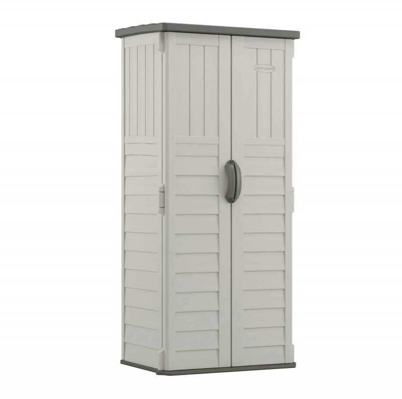 ihocon: Suncast 22 cu. ft. Vertical Resin Storage Shed 室外儲物櫃