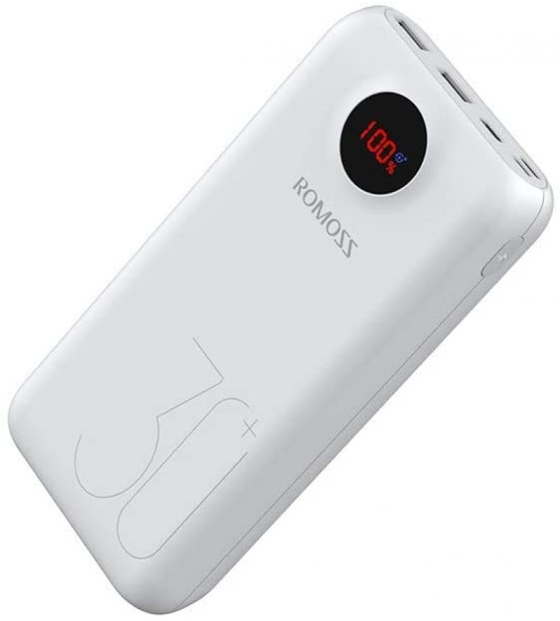 ihocon: Romoss 30000mAh Portable Power Bank with 3 USB Charging Ports 行動電源/充電寶