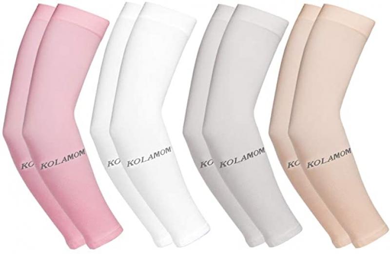 ihocon: Kolamom Arm Sleeves for Men Women UV Protection, pack of 4 防曬袖套
