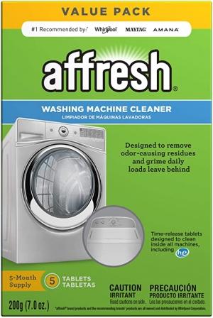 ihocon: Affresh 洗衣機清潔劑 1盒5個