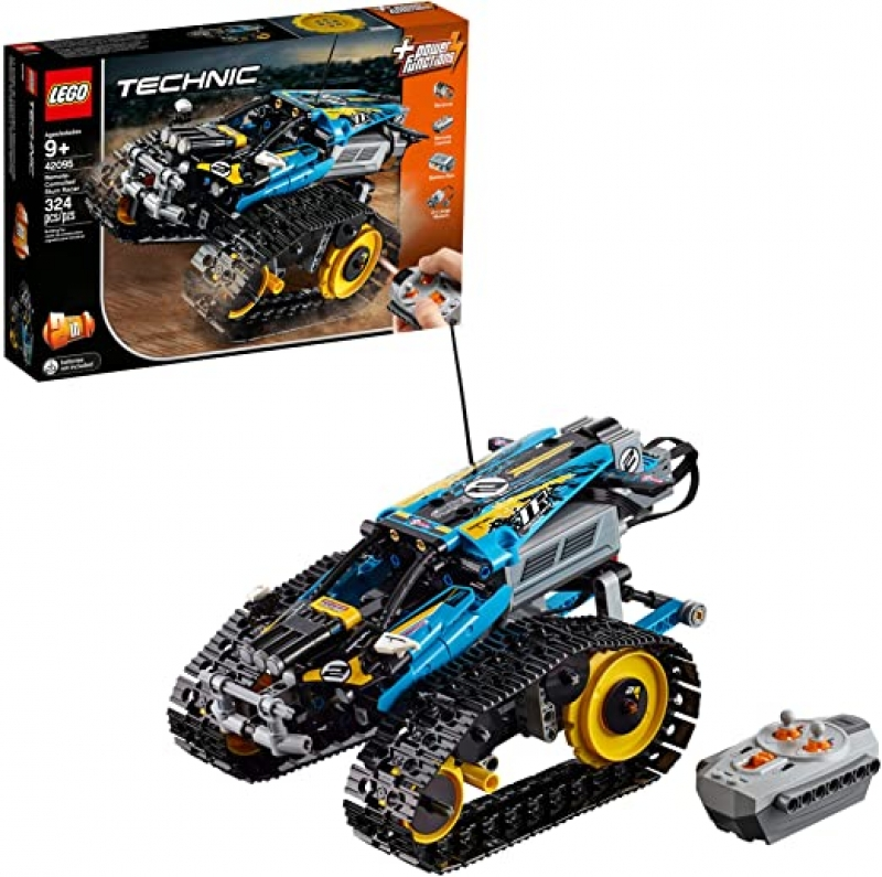 ihocon: LEGO Technic Remote Controlled Stunt Racer 42095 Building Kit (324 Pieces)